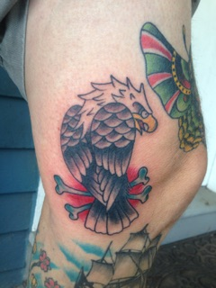 tattoo design.eagle